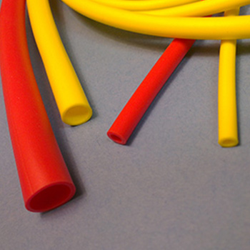 tapered bump and funnel medical tubing